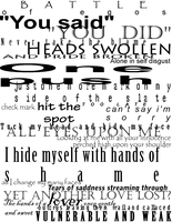 These hands writing by Zwillingsflamme