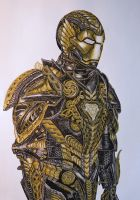 Iron Man Black and Gold by Iceus135