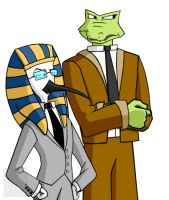 Thoth and Henley - Colored by mpcp13