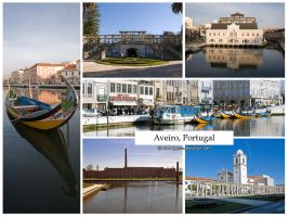 Postcard - Aveiro, Portugal by jpgmn