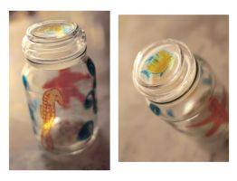 Seahorse jar by Charmed-Ravenclaw