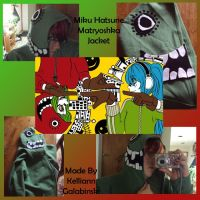 Miku Hatsune Matryoshka Jacket by CupcakeCrafty