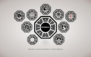 lost - dharma initiative wall by ibx93