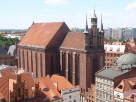 Saint Mary church by Woolfred