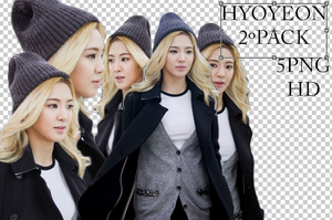 HyoYeon 2Render Pack by sanjisan21
