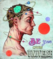 Be Your Own Universe by ismaComics