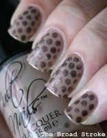 Nude Polka Dots by ProlificMuse
