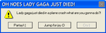 Lady Gaga Error Message by raimundo-fangirl