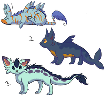 Creature Adoptables - Draw to Get by RunningSpud