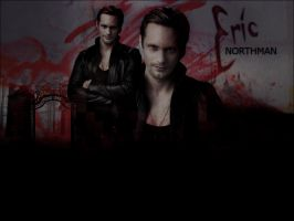 . eric northman wallpaper . by ImprintedVampire