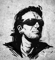 Bono by TimKelly