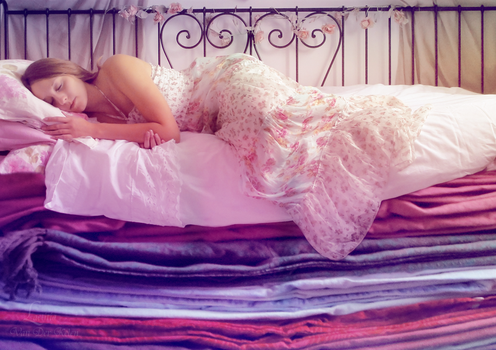 A so little princess - Princess and the Pea by Blossom-Lullabies