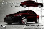 Lexus IS Design Contest Entry by mmccalip