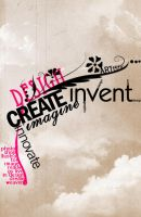 Be Creative Typography by kr3wsk8er2811
