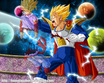 DragonBall Multiverse - U13 Vegita has been cut by HomolaGabor