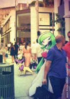 Wild POkemon Encounter in Beverly Hill by Ninja-Jamal