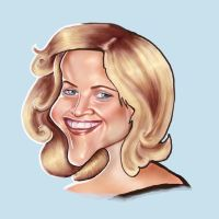 Reese Witherspoon caricature by jonesmac2006