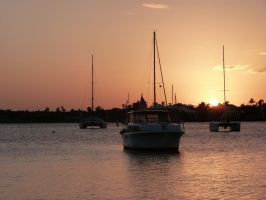 Sunset Fleet by ecfield