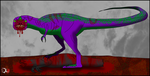The Purple Dinosaur by Dr-XIII