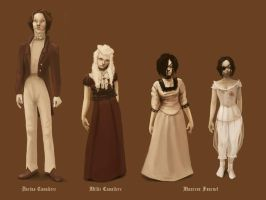 Characters desing by novac