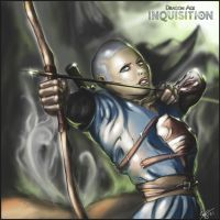 Commission: Dragon Age Inquisition OC by xWolfie212x