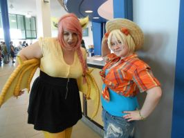 UB Con XXV- Flutterbat and Applejack!! by SiXProductions