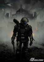 Another ODST drawing by ODST934
