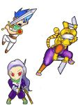 Breath of fire trio coloured (Youtube preview) by Nigzblackman