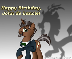 Happy Birthday John de Lancie by AleximusPrime