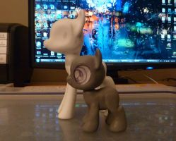 Filly rough sculpt by krowzivitch