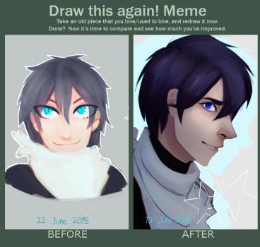 Before and After Meme by TrippyTape