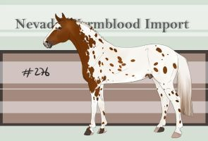 Nevada Warmblood 276 CLOSED by BRls-love-is-MY-Live