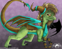Gift: A Cursed Dragoness by A7XSparx