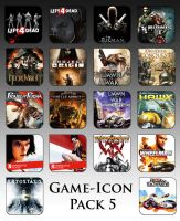Game Aicon Pack 5 by HarryBana