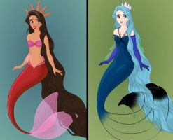 Ambar and Lorelei by AnaBastow