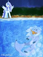 .: Returning to a friend :. by ASinglePetal