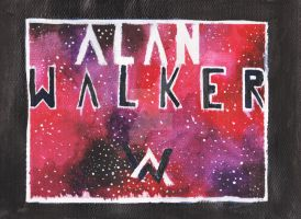 Alan Walker - galaxy by MadCalanchoe