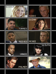 NCIS Stamp Sheet by poserfan