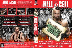 WWE Hell in a Cell 2014  DVD Cover V2 by Chirantha