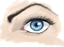 Eye Detail by kitkeys