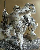 Imperial Scout Sniper Platoon by G2ORC