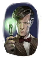 09-02-15 The 11th Doctor by Anaelisch
