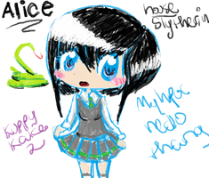Alice, my HPOC redrawn. by Olive-Olive-Olive