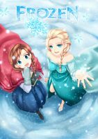 Frozen fan art by mizonaki