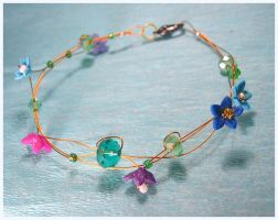 a gift from the fairy queen - bracelet by neko-crafts