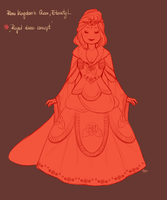 Royal dress concept by MaryLittleRose