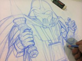 Tributo a Ralph Mcquarrie- Preview by mario-freire