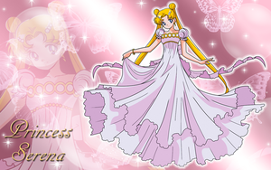 Gift-Princess Serena Wallpaper by Supremechaos918