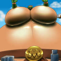 Gigantic sumo Micheangelo by RickyDemont