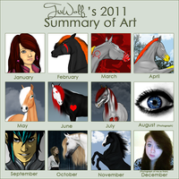 2011 Summary of Art by inaeriksson